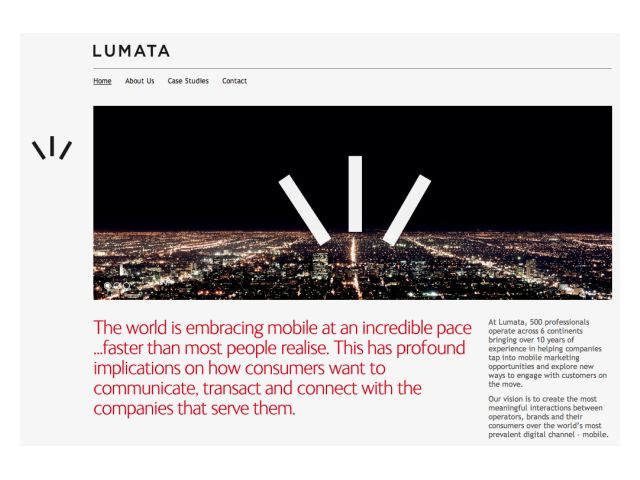 Lumata Website WEB